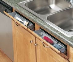 Home Decor Quotes Rev-A-Shelf 11 Inch Sink Front Tip Out Storage Trays and Hinges White Pack).Home Decor Quotes Rev-A-Shelf 11 Inch Sink Front Tip Out Storage Trays and Hinges White Pack) Home Renovation, Home Remodeling, Small Kitchen Remodeling, Diy Kitchen Remodel, Rev A Shelf, Kitchen Drawers, Wooden Kitchen Cabinets, Kitchen Backsplash, Kitchen Appliances