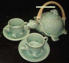 Ceramic Tea Pot TURTLE