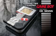 Custom airbrushed painted gameboy nes by CKSIGNS.deviantart.com on @DeviantArt