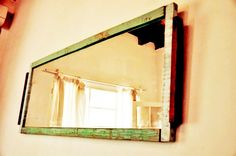 Marco con maderas 100% reciclada by WOODHEAD Oversized Mirror, Interior, Furniture, Home Decor, Frames, Wood, Decoration Home, Indoor, Room Decor