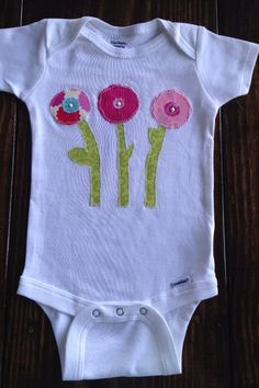 Unique Baby Girl onesie