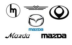 Mazda logos through the ages..