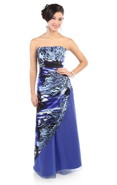 starry night #purple glitter print long #prom #dress $155.50