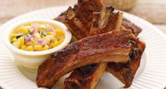 A zesty Super Spice rub for ribs combines cinnamon, paprika and red pepper. This two-step cooking method for baby back ribs produces sweet-spicy ribs that are fall-of-the-bone tender.