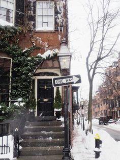 Love winter,  love Boston.