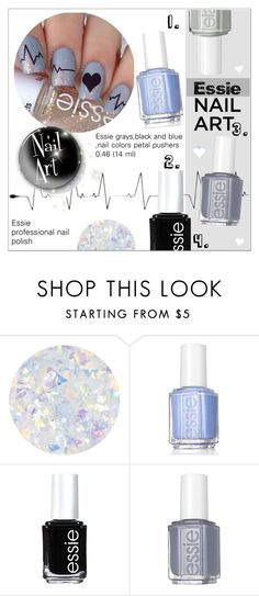 """Fall Nail Art!"" by alves-nogueira ❤ liked on Polyvore featuring beauty and Essie"