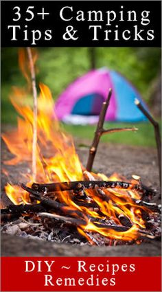 A mix of good and goofy -  list of projects and ideas to help around the campsite, a list of must-have home remedies (for poison ivy, mosquito bites, etc.), plus a bunch of fun ideas for cooking