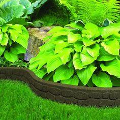 EcoTrend   3.5x48 Inch Flexi Curve Rockwall Earth   MT5000930   Home Depot  Garden