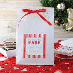 Holiday Craft: DIY Easy Food Gift Package Personalize your own gift tags at www.bottleyourbrand.com