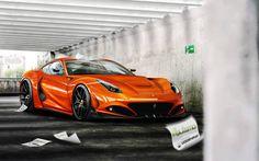 Chop of a ferrari F12 Berlinetta for a world online tuning contest(wtb)
