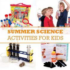 Summer Science Activites for Kids