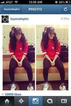 Teyana Taylor ❤                                                                                                                                                                                 More