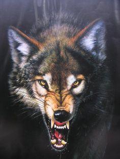 Drawing wolf angry wolves ideas for 2019 Wolf Growling, Wolf Tattoos Men, Angry Wolf, Wolf Tattoo Sleeve, Wolf Artwork, Werewolf Art, Fantasy Wolf, Wolf Spirit Animal, Bild Tattoos