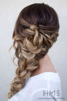 Unique more hair ideas are available later in the article., 26 beautiful braids for wedding hairstyles , , image_alt] Prom Hairstyles For Long Hair, Up Hairstyles, Pretty Hairstyles, Braided Hairstyles, Wedding Hairstyles, Wedding Updo, Beautiful Braids, Gorgeous Hair, Nice Braids