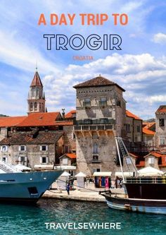 A Peaceful Day Trip to Trogir from Split, Croatia via travelsewhere. Travel in Europe and the Balkans.