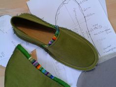 making your own shoes
