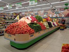 #Produce #Retail #Store_design #Supermarket #Smart_design @B.Smartretail #VM