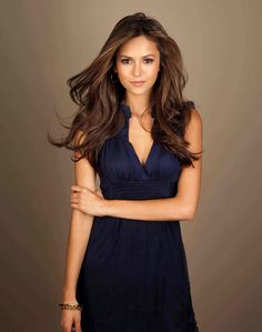 Nina Dobrev. She's kind of drop dead gorgeous, and plays one of my fav TV characters so well! #katherinefierce