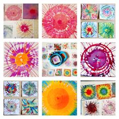 Our Obsession with Spin Painting