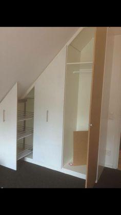 Interior Design Inspiration, Decor Interior Design, Attic Bedrooms, Home Organisation, Attic Storage, Interior Design Living Room, Home And Living, Diy Furniture, Decoration