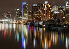 I loved this and wouldn't mind going back:) Vancouver at night.