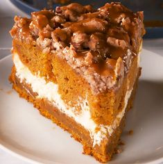 Pumpkin Cream Cheese Coffee Cake - Delish.com