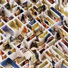 Matthew Picton creats 3D maps of cities using books from those cities.. you kinda have to see it to know what i mean..