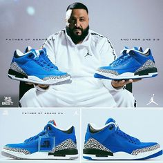 24fa3d404671 DJ Khaled Air Jordan 3 Another One Air Jordan 3 Father of Asahd - SBD First