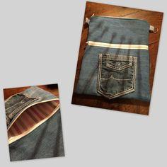 Pochette Bandoulière Jeans