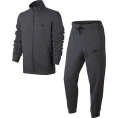 Nike Sportswear Tracksuit Fleece Grey | 861776-071 - SportowySklep.pl