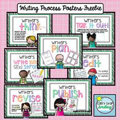 Free! Writing Process Posters