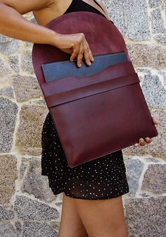 HANDMADE COVER IPAD / Leather Tablet / iPad Cover by PACOSASTRE