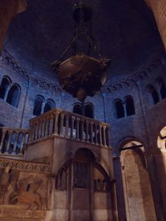 L'interno della Rotonda Stefaniana
