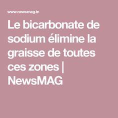 Le bicarbonate de sodium élimine la graisse de toutes ces zones | NewsMAG