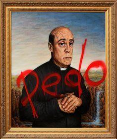 Pedo Priest oil painting by Adam James K