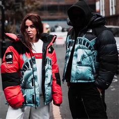 Supreme TN Statue of Liberty Down Jacket Canada Goose Jackets, Statue Of Liberty, Rain Jacket, Windbreaker, Winter Jackets, Supreme, Iphone, Fashion, Statue Of Liberty Facts