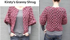 How to Crochet a Shrug | Pretty Ceations
