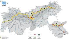 """Am Montag geht es los. Das wahrscheinlich größte Abenteuer meines Sommers. Vom Kaisergebirge bis zum Arlberg in 24 Etappen.320 Kilometer. 23.000 Höhenmeter. """"Ja."""", das war meine zugegeben sehr kurzeAntwort auf die Anfrage der Tirol Werbung, ob ich denn im Sommer den ganzen Adlerweg gehen und davo"""