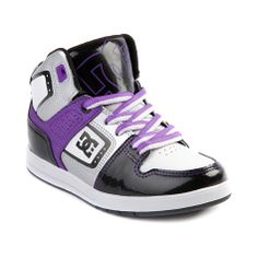 3ad6293da53 Shop for YouthTween DC Destroyer Hi Skate Shoe in White Purple at Journeys  Kidz. Shop