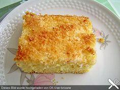 Buttermilchkuchen (Tassenkuchen) wie ihn mir Oma zum Kindergeburtstag machte... Tassenkuchenrezepte s.a.: http://www.chefkoch.de/forum/2,35,71465/Tassen-und-Becherkuchen.html s.a.: Buttermilchkuchen mit Kokosraspeln, Mandeln oder Nüssen