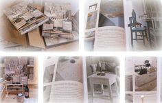 Boek over Krijtverf: Vintage Paint Jeanne d'Arc Living.