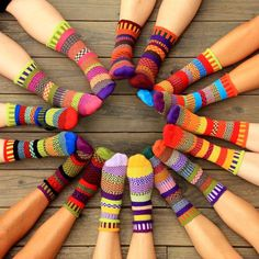 Life is too short for matching socks! Fun, comfy and stylish socks. Made in the USA with eco-friendly recycled cotton yarns.