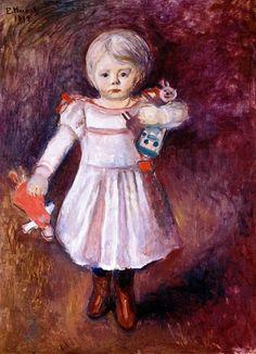 Edvard Munch - Nora Mengelberg, 1894