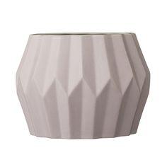 Discover the Bloomingville Ceramic Vase - Nude/White at Amara