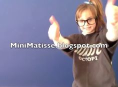Mini Matisse: Geometric and Free-Form Shapes-- Video of Mini Matisse introduces Geometric and Free-Form Shapes