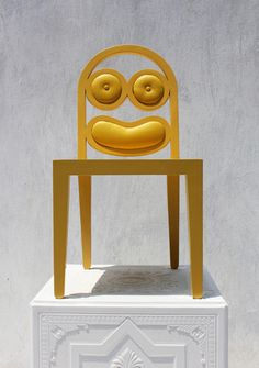 The Simpsons in chair form from the fascinating 56th Studio