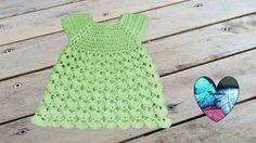 Vestido en relieve precioso tejido a crochet todas las tallas - YouTube