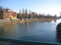 View from bridge, Uzhgorod (Ukraine)