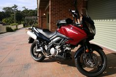 2006 V-Strom day I picked it up. Motorcycles, Bike, Vehicles, Ideas, Bicycle, Bicycles, Car, Thoughts, Motorbikes