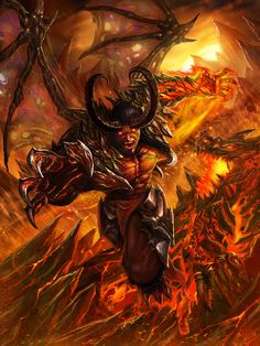 Dragon Demon Advance by DeadManAwake.deviantart.com on @DeviantArt